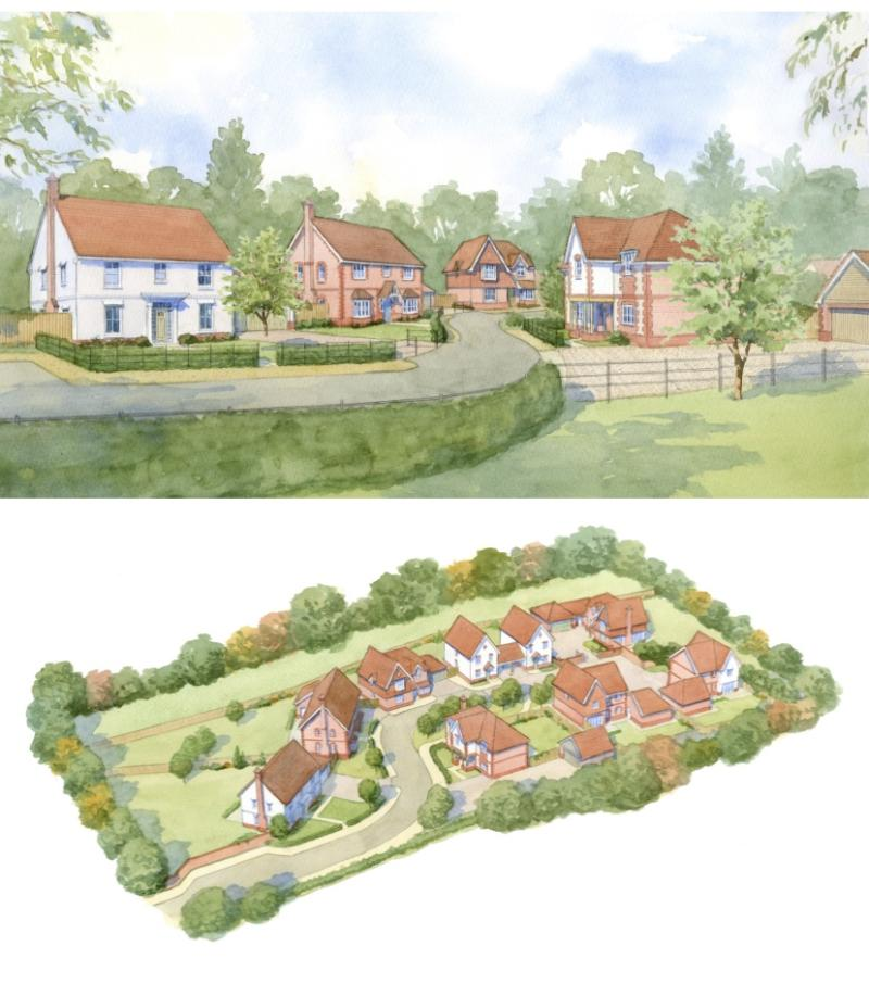 Successful exchange of contracts for beautiful 9 unit development in West Sussex…